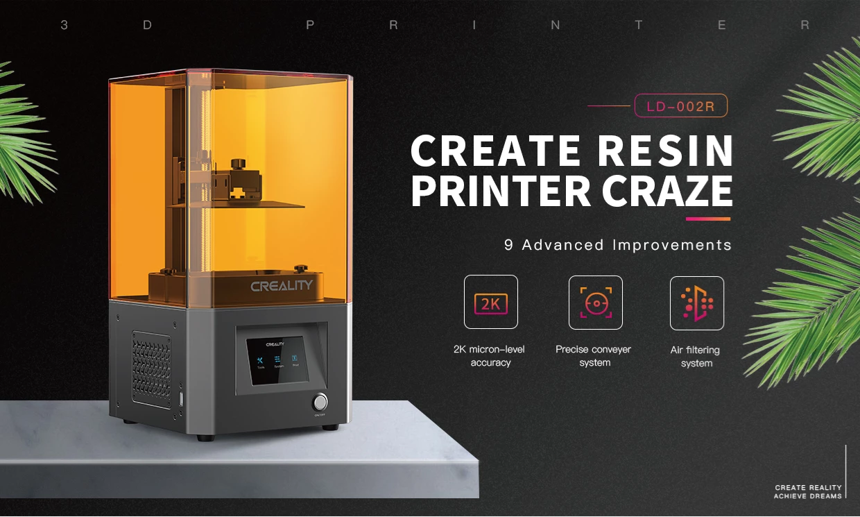 LD-002R LCD Resin 3D Printer ultra-high cost-effective configuration