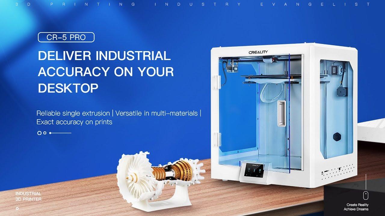 Creality CR-5 Pro 3D Printer | Creality Best Desktop 3D Printer