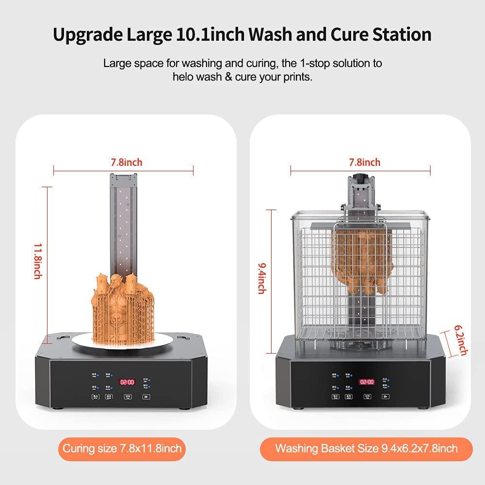 creality resin, uw-02 10inch washing and curing machine