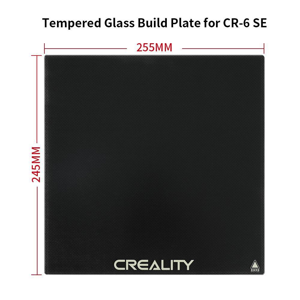 CR-6 SE Glass Bed
