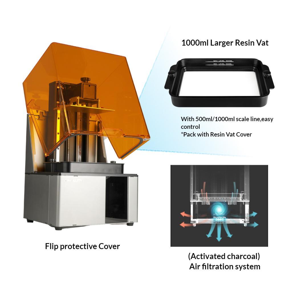 HALOT-SKY 8.9Inch Resin 3d printer