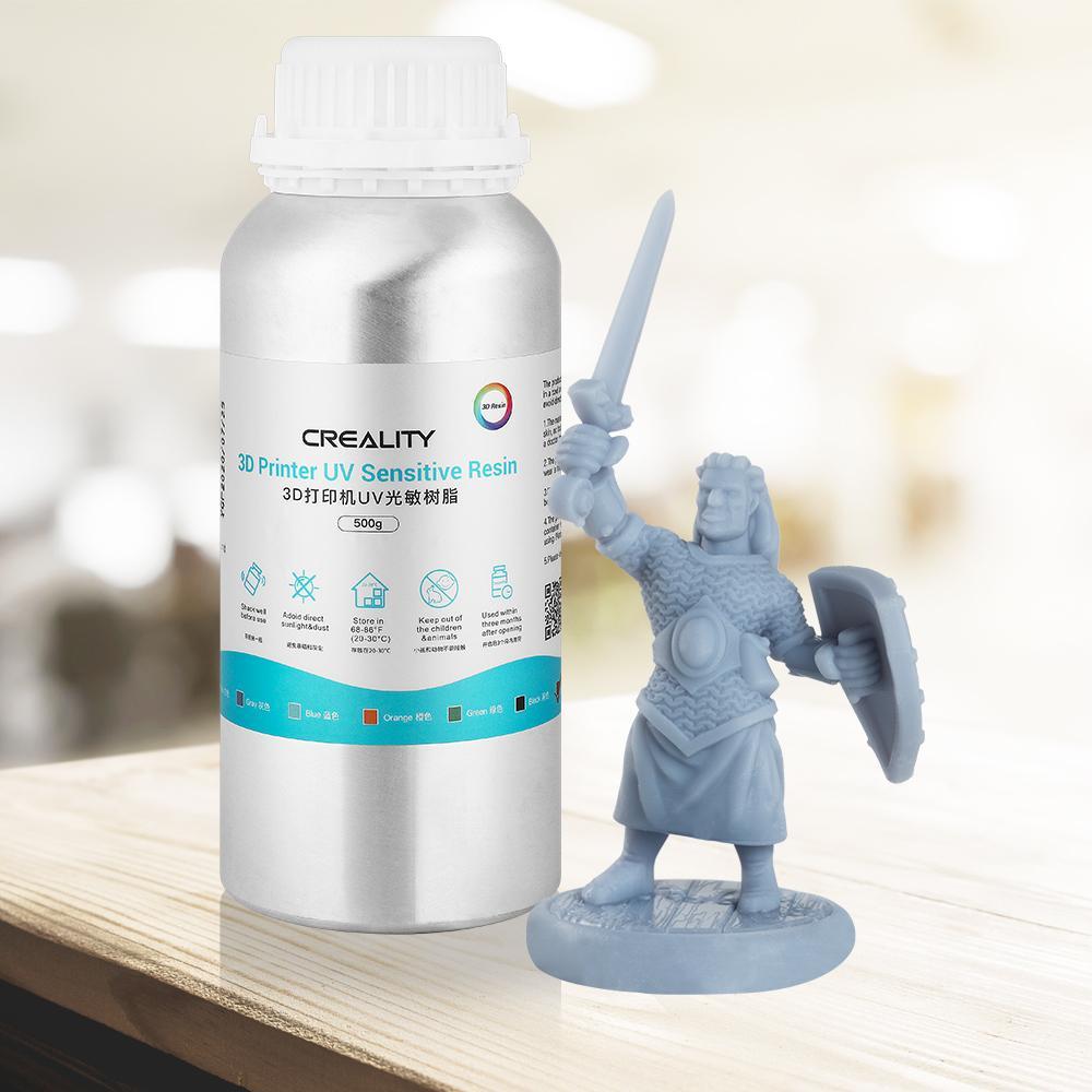 creality resin, 3d printer resin,  3d printing liquid uv resin