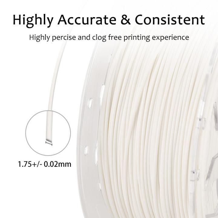 1.75mm pla filament, 3d printing filament,  creality filament