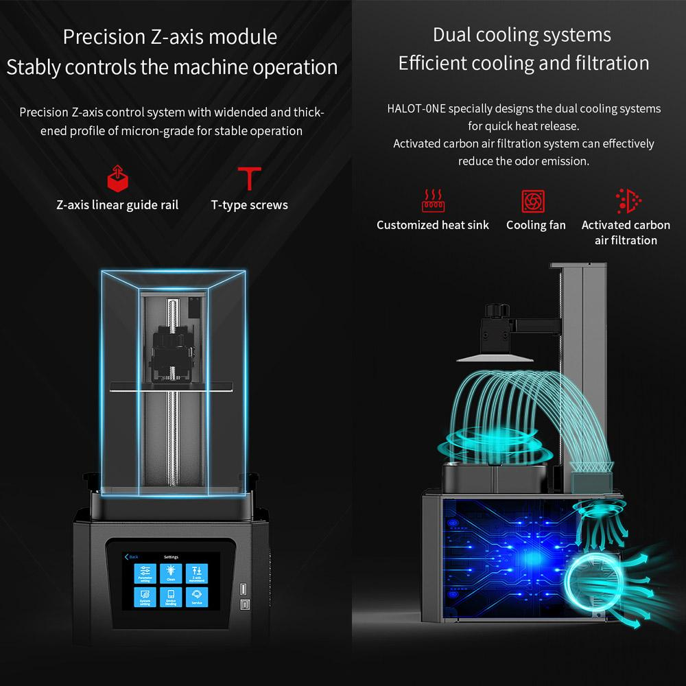 HALOT-one Resin 3d printer