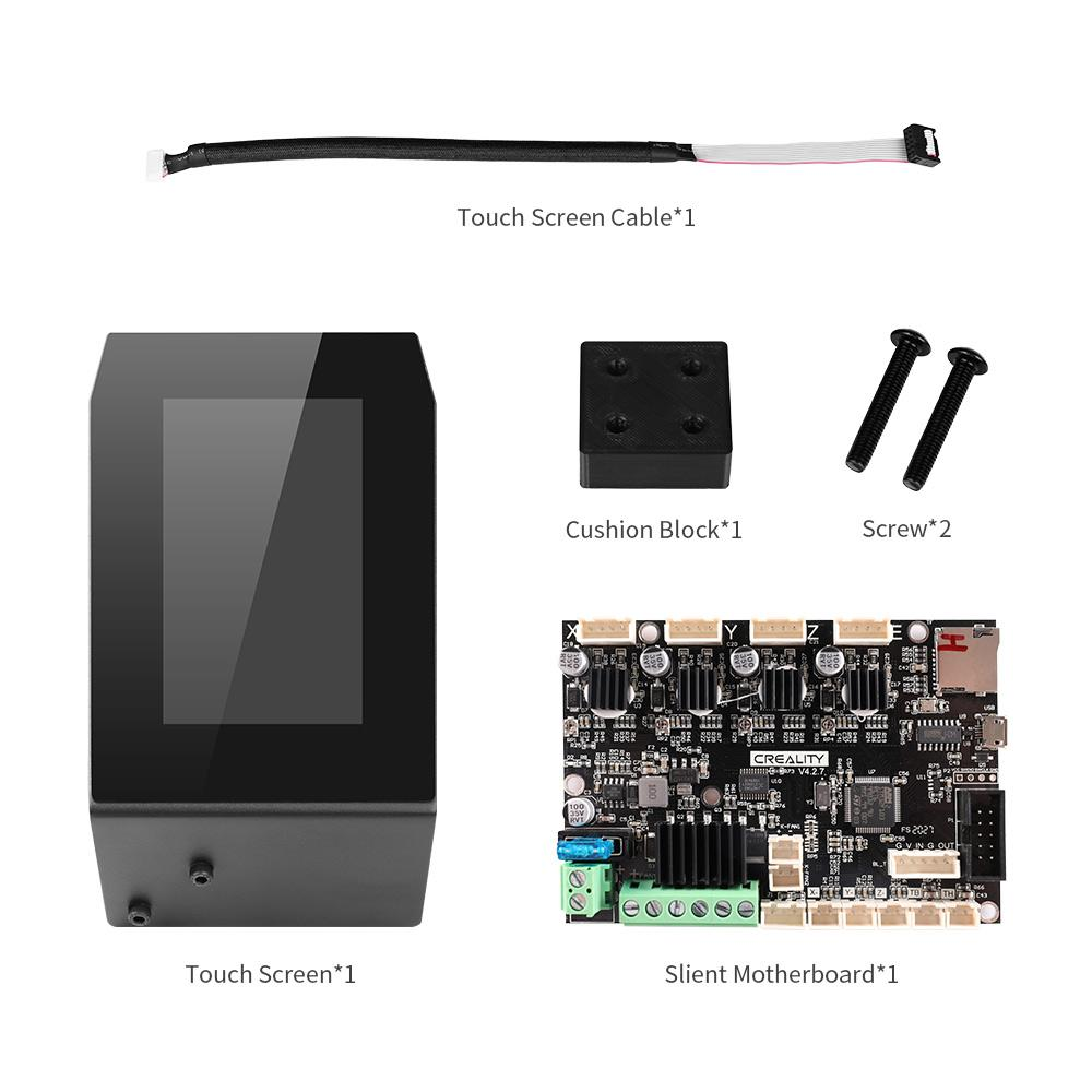 creality touch screen, upgraded part for ender 3