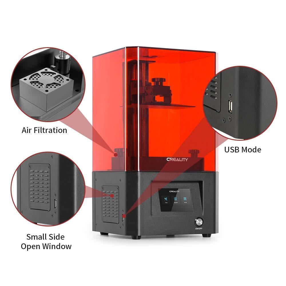 creality resin, resin 3d printing