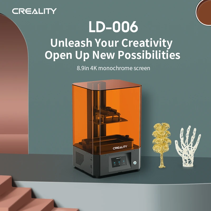 creality resin,  ld-006 8.9inch large resin 3d printer