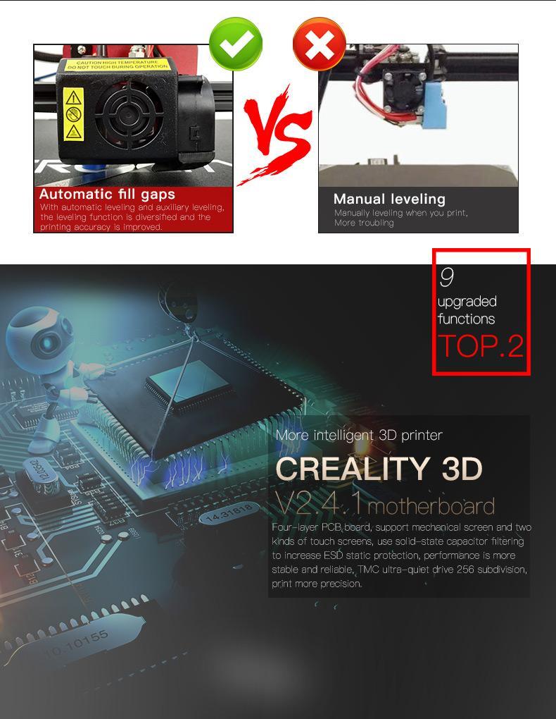 Official Creality CR-10S Pro 3D Printer