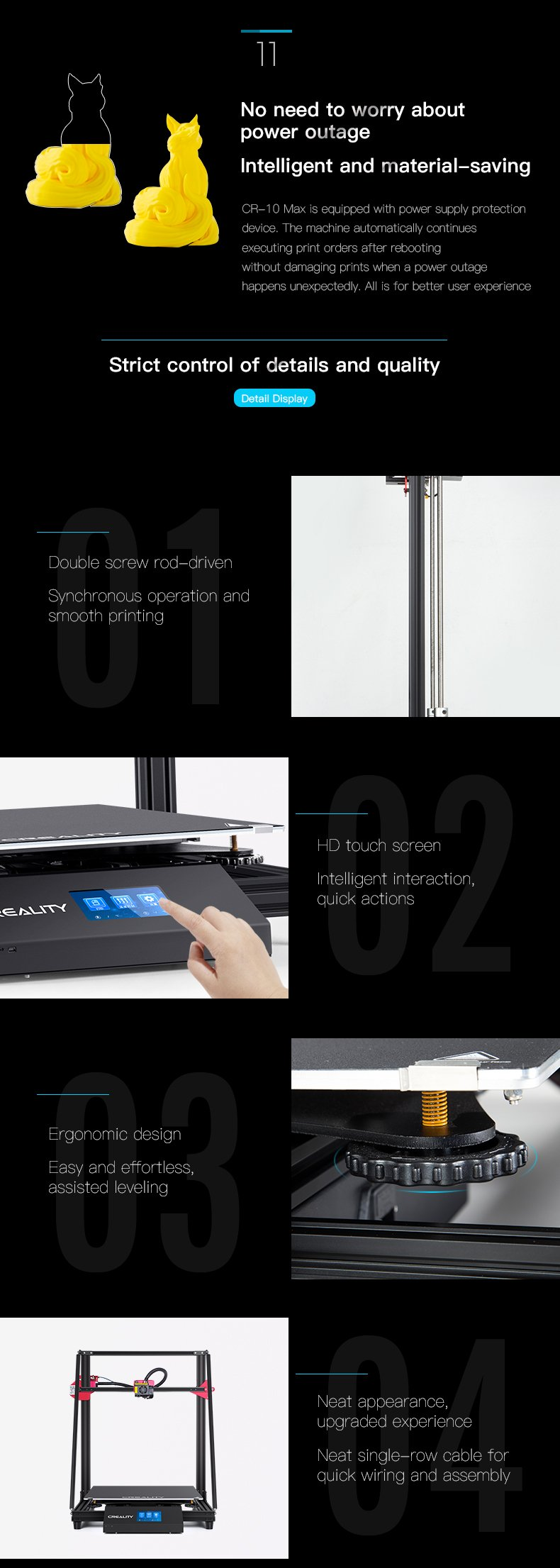 Creality CR 10 Max 3D Printe