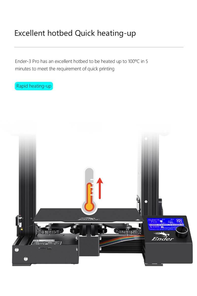 Creality 3d printer ender 3 pro