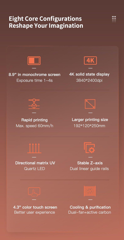 Creality LD-006 Resin 3D Printer