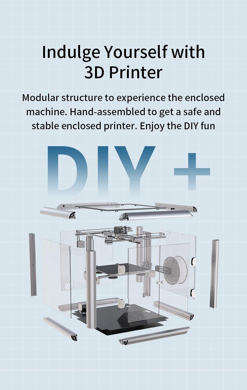 Sermoon D1 Enclosed 3D Printer