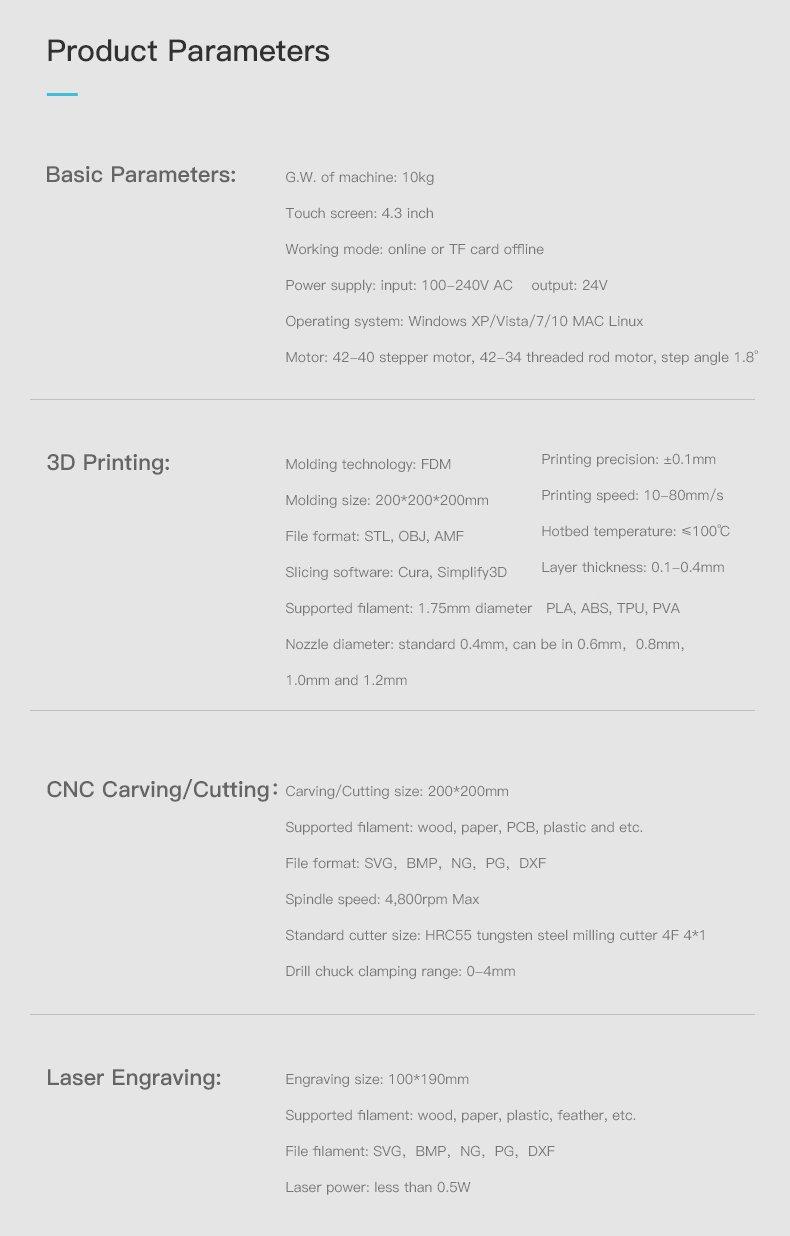 Creality3D CP-01 HD photos017