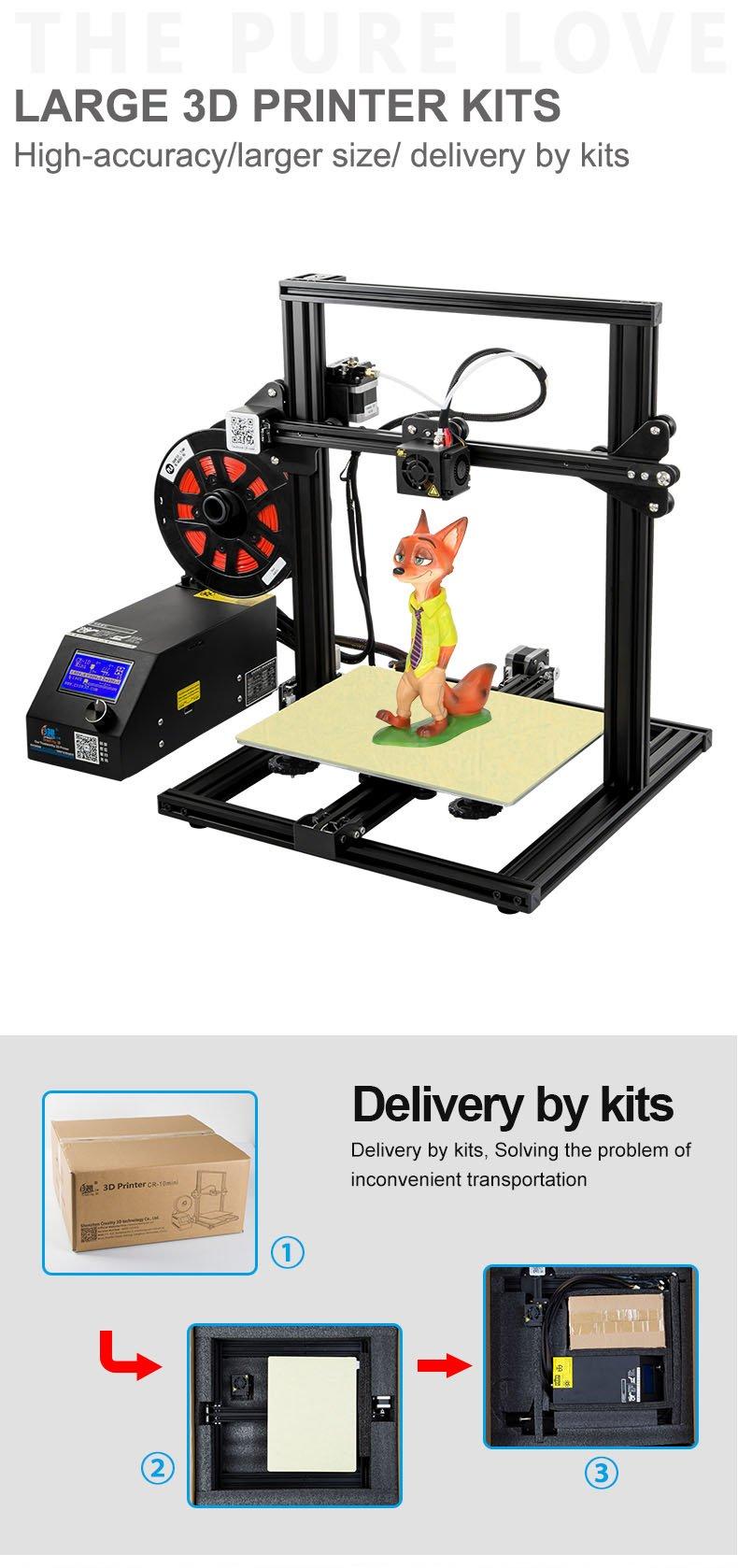 Official Creality CR-10 MINI 3D Printer