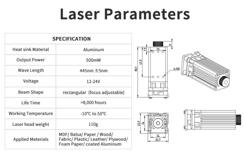 Laser Head kits  creality 3d printer