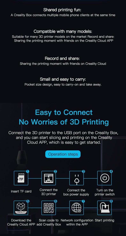 Wi-Fi Cloud Box Creality 3D Printer